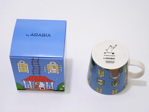 ARABIA アラビア ムーミン 70周年記念マグ ムーミンハウス